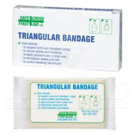 Triangular Bandage, Compressed