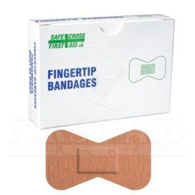 Fabric Bandages, Fingertip Large, 4.4 x 7.6 cm, Heavyweight