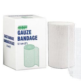 Gauze Bandage Roll, 5.1 cm x 9.1 m