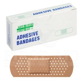 Plastic Bandages, 2.5 x 7.6 cm