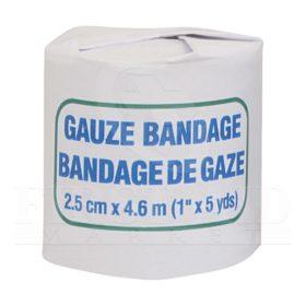 Gauze Bandage Roll, 2.5 cm x 4.6 m