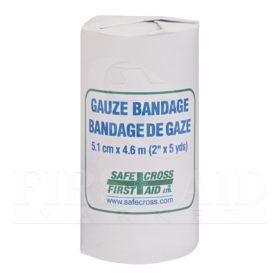 Gauze Bandage Roll, 5.1 cm x 4.6 m