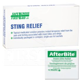After Bite Treatment Pads - Sting Relief