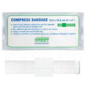 Compress Bandage, 10.2 x 10.2 cm (4