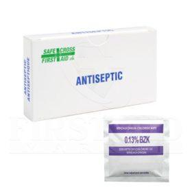 Benzalkonium Chloride (BZK), Antiseptic Towelettes