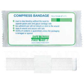 """Compress Bandage, 7.6 x 7.6 cm (3"""" x 3"""")"""