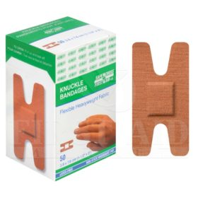 Fabric Bandages, Knuckle, 3.8 x 7.6 cm, Heavyweight