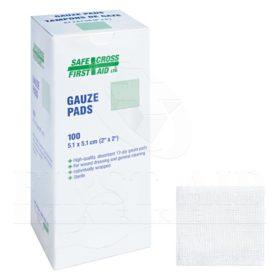 Gauze Pads, 5.1 x 5.1cm, 12-ply, Sterile