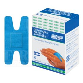 Fabric Detectable Bandages, Knuckle, 50/Box