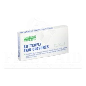 Butterfly Skin Closures - Large, 1.3 x 7 cm, 100/Box