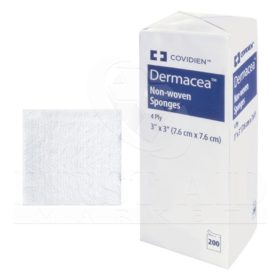 Non-Woven Sponges, 4-Ply, 200/Package