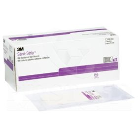 Steri-Strip Skin Closures, 3 mm x 7.6 cm, 50/Box