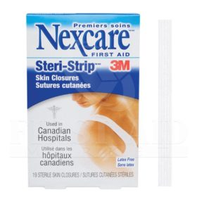 Steri-Strip Skin Closures, Assorted, 19/Box