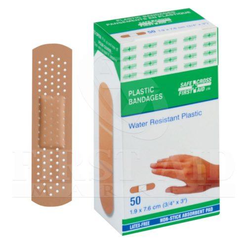 Plastic Bandages, 1.9 x 7.6 cm