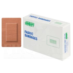 Fabric Bandages, Large Patch, 5.1 x 7.6 cm, Heavyweight