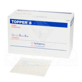 Topper-8 Swabs, 5.1 x 5.1 cm