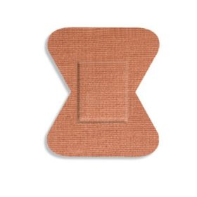 Fabric Bandages, Fingertip Small, 4.4 x 5.1 cm, Heavyweight