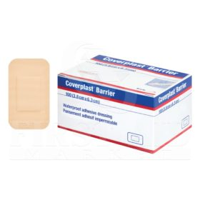 Coverplast Barrier Dressings, 3.8 x 6.3 cm, 100/Box