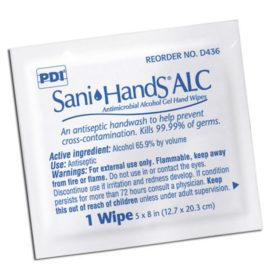 Sani-Hands, Alcohol Gel Hand Towelettes