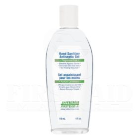 Hand Sanitizer Antiseptic Gel, 118 mL