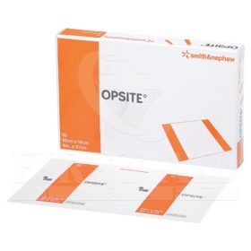 Opsite Transparent Adhesive Film, 10.2 x 14 cm, 10/Box