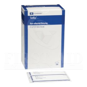 Telfa, Non-Adherent Pads, 5.1 x 7.6 cm, Sterile, 100/Box