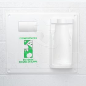 Eye Wash Station, Single Plaque Only