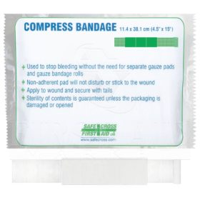 Compress Bandage Large - 11.4 x 12.7 cm