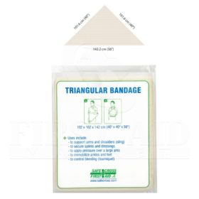 Triangular Bandage, Non-Compressed