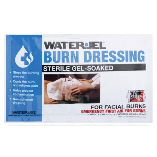 WATER-JEL Burn Dressing Face Mask