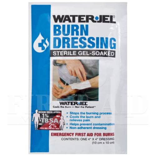 WATER-JEL Burn Dressing, Sterile, 4x4 inch