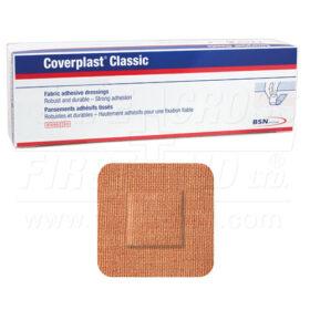 Coverplast Fabric Bandages 3.8 x 3.8 cm, Heavyweight, 100/Box